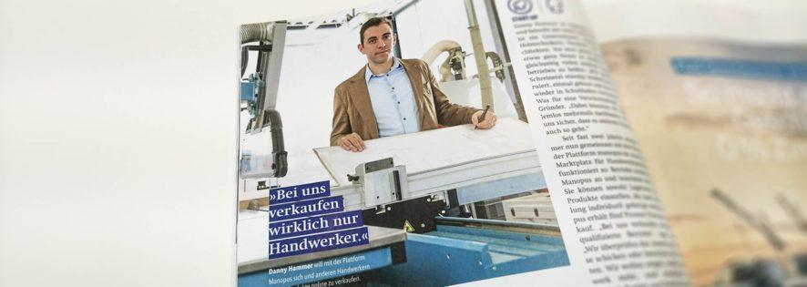 Handwerk Magazin 03/17 – Geschäftsidee des Monats