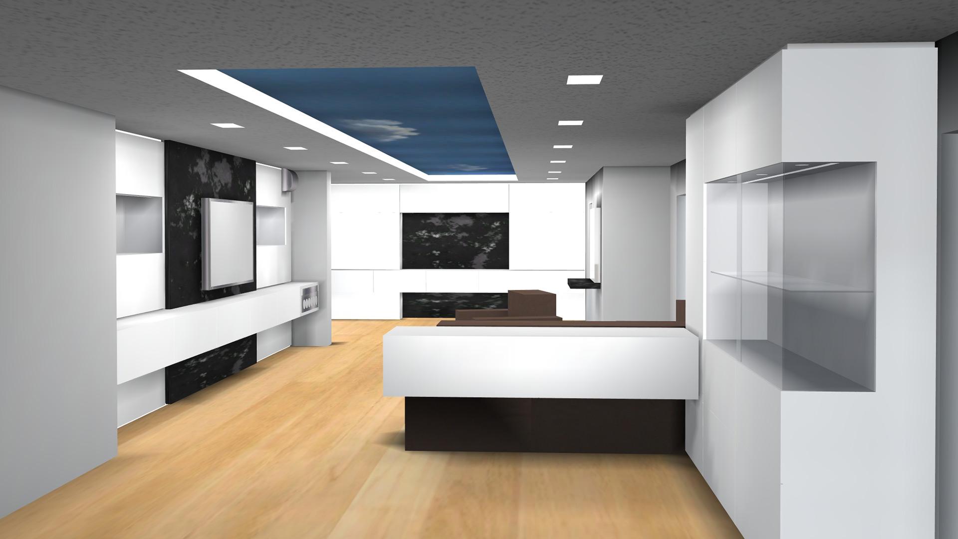 3D-Simulationen veranschaulichen die geplanten Ausbaumaßnahmen schon bevor ein Teil bestellt wurde und lassen flexible Modifikationen zu