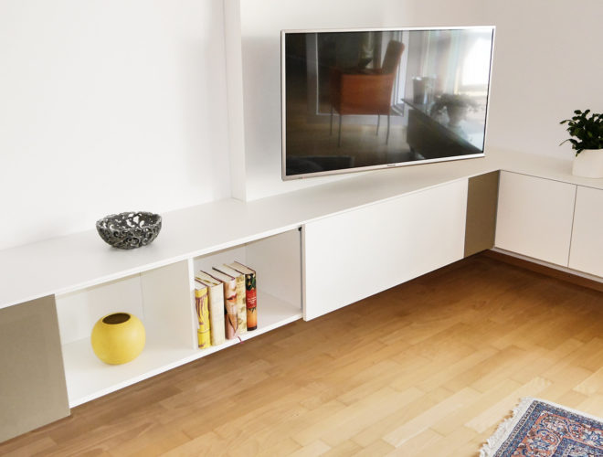Mediamöbel: TV-Eck-Sideboard