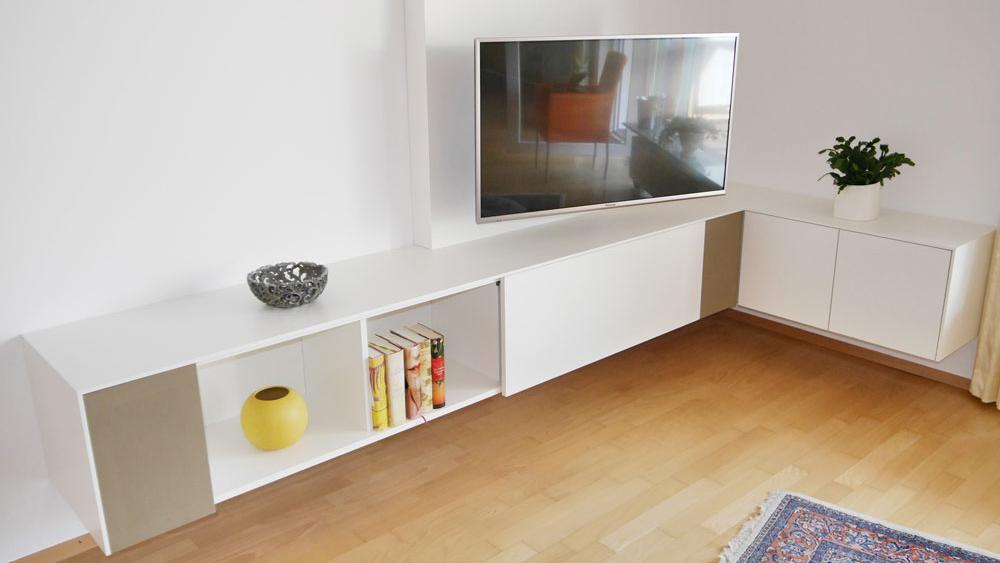 Das TV Eck Sideboard Ist Für Die Klassische TV Rezeption Ausgelegt Und  Verfügt