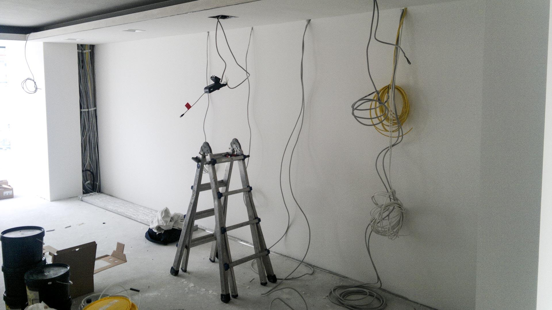 Am Anfang jedes Ausbauprojekts steht ein Raum, der gestaltet werden will