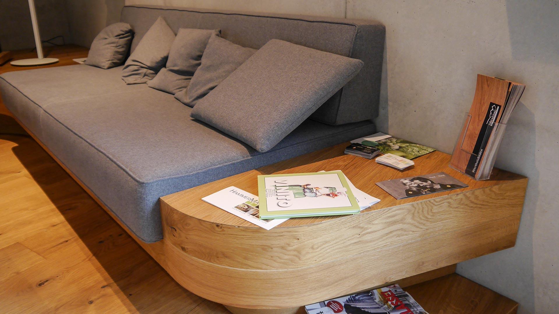 Sitzbänke bieten jede Menge Spielraum für Sonderkonstruktionen