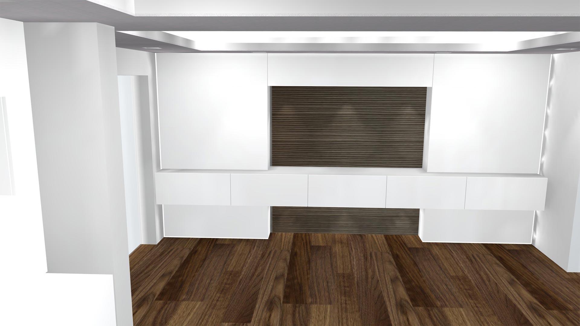 Dank 3D-Visualisierung können wir im Vorfeld die Positionierung der Leuchtmittel simulieren, um so eine optimale Ausleuchtung des Raums zu erreichen.