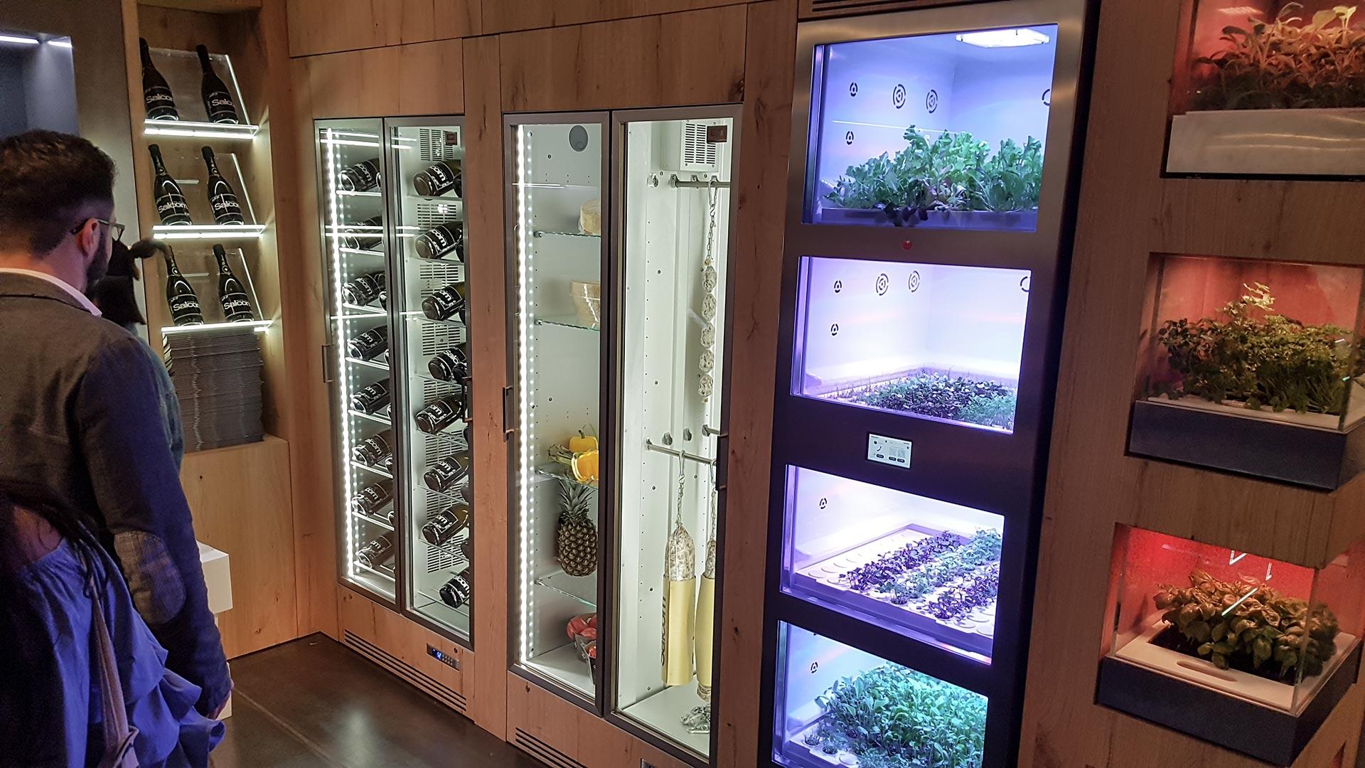Weinklimaschrank, Kühlschrank, Fleischreifeschrank und Gewächshaus für die heimische Küche. Gastronomie-Qualität für zu Hause.