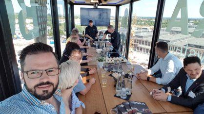 Küchenwohntrends 2018 - Mit BORA über den Dächern von München