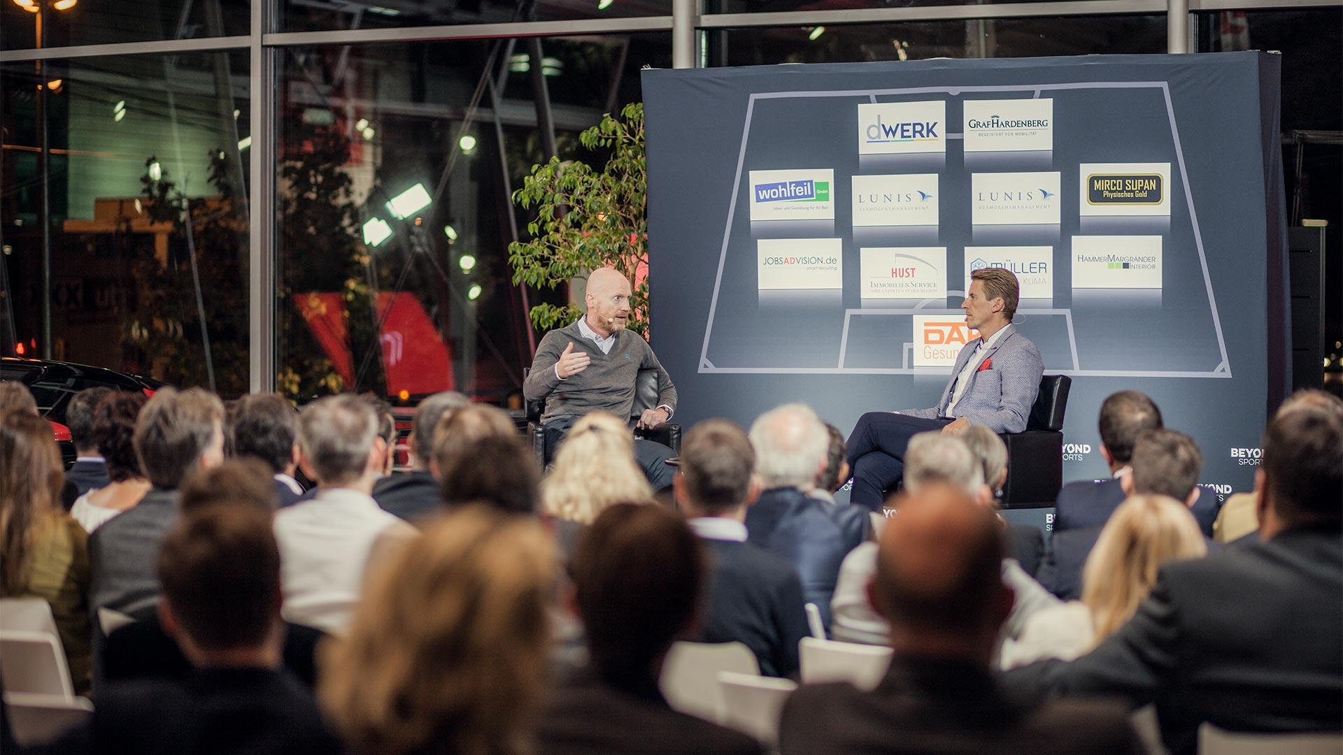 Beyond Sports Star Talk mit Matthias Sammer