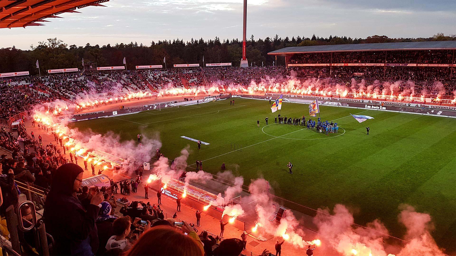 Abschied vom Wildparkstadion: KSC schlägt Würzburg