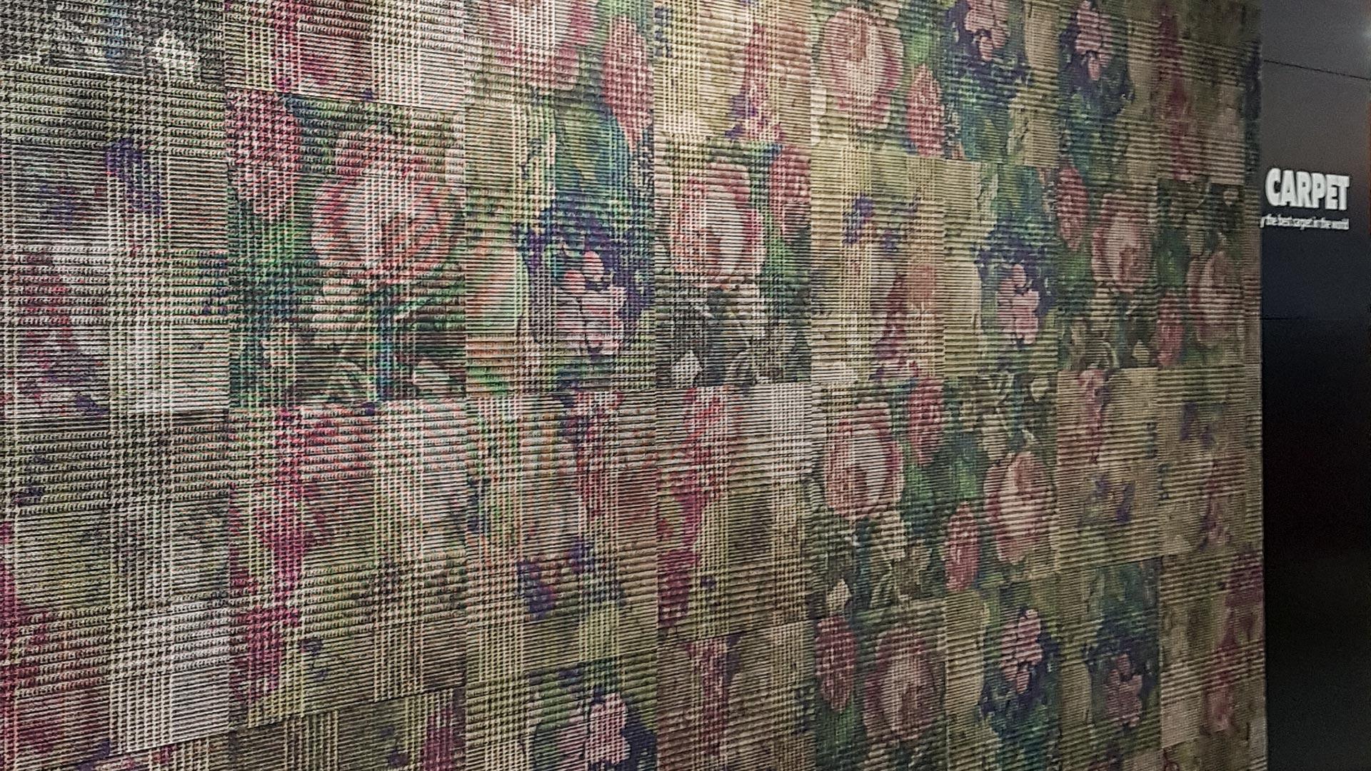 Florale Muster greifen von der Mode auf die Innenarchitektur über.