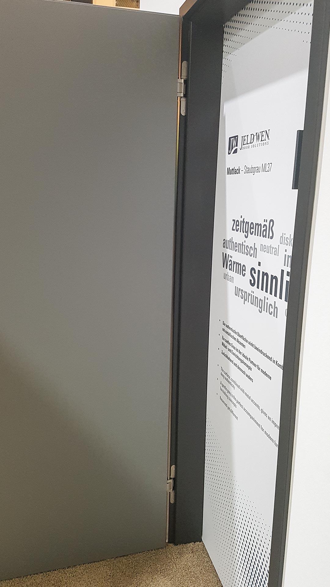 Das innovative Beschlagssystem verleiht gefälzten Innentüren einen ganz neuen Appeal.