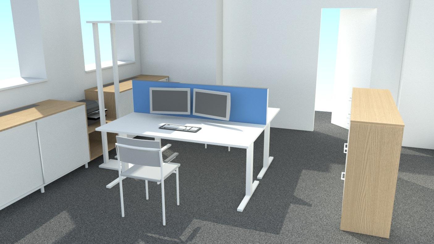 Mittels 3D-Visualisierung können ganz einfach verschiedene Materialkombinationen und Lichtszenen ausprobiert werden.