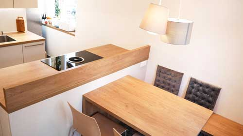 Küche auf kleinstem Raum - Küchen-Projekte