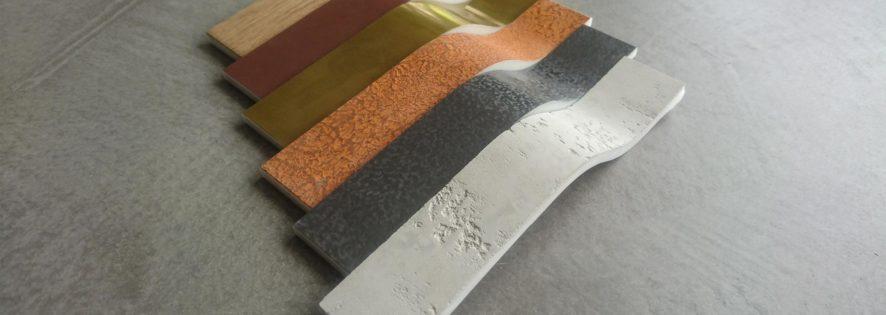 Mineralwerkstoff mit außergewöhnlichen Oberflächen