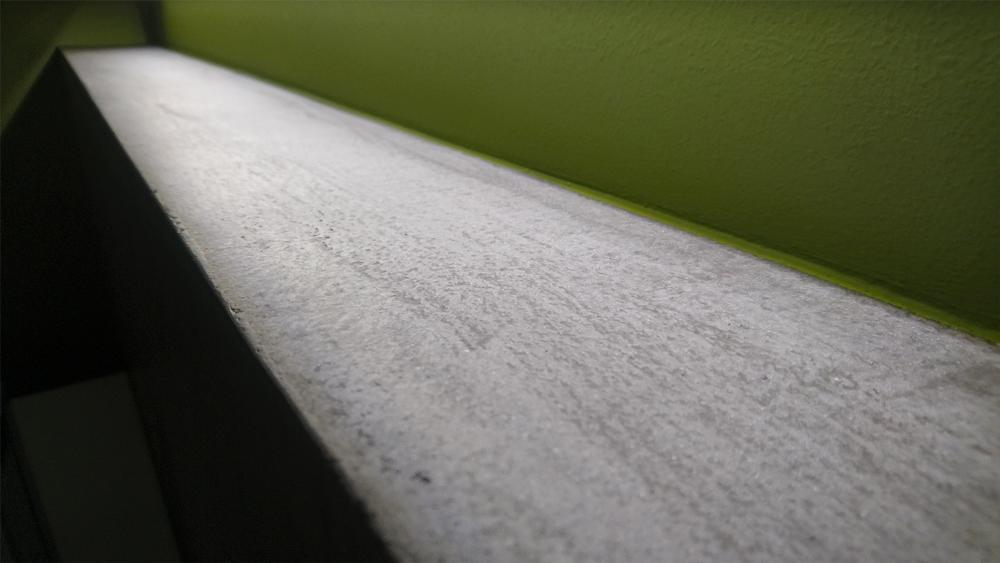 Fugenlose Verarbeitung von polymermodifiziertem Betonputz