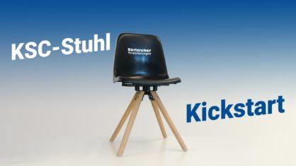 KSC-Stuhl Kickstart - Jetzt vorbestellen!