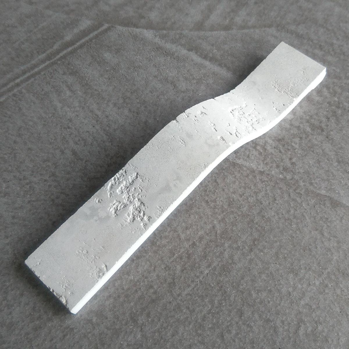 Beton-Optik und Mineralwerkstoff gehen eine neue Verbindung ein. Damit sind Beton-Oberflächen praktisch keine Grenzen mehr gesetzt.
