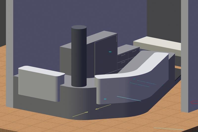 3D-Visualisierung erlaubt uns planerische Details bereits im Vorfeld zu simulieren und Sie optimal in den Prozess einzubeziehen.
