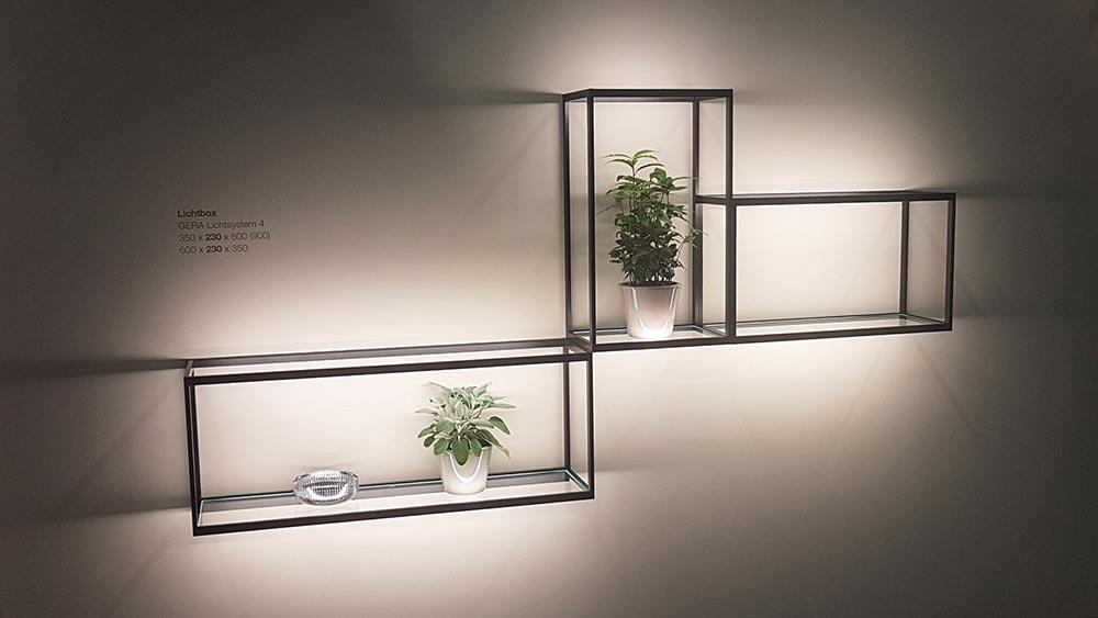 LED-Präsentationsbeleuchtung mit Stil
