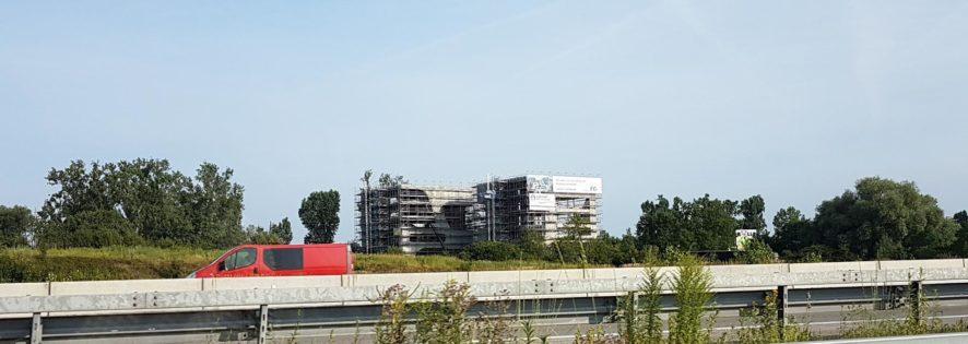 Innovatives Bauvorhaben direkt an der Autobahn: FC-Campus
