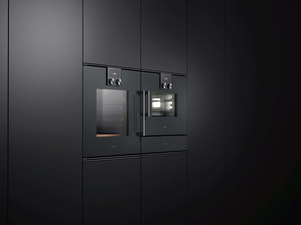 Die Einbaugeräte der Serie 200 bestechen durch flächenbündiges, schlichtes Design