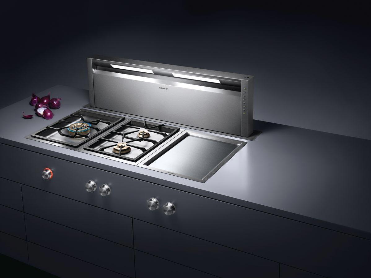 Die Vario Serie 400 vereint Professionalität und Design gekonnt und besticht mit der Option auf eine ausfahrbare Tischlüftung