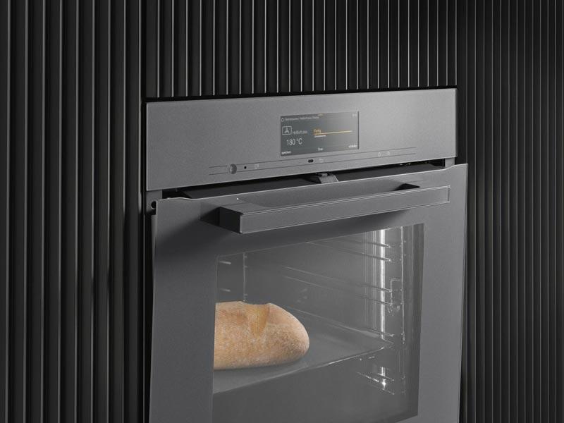 TasteControl ermöglicht, den Ofen sofort abkühlen zu lassen, um Nachgaren zu verhindern.