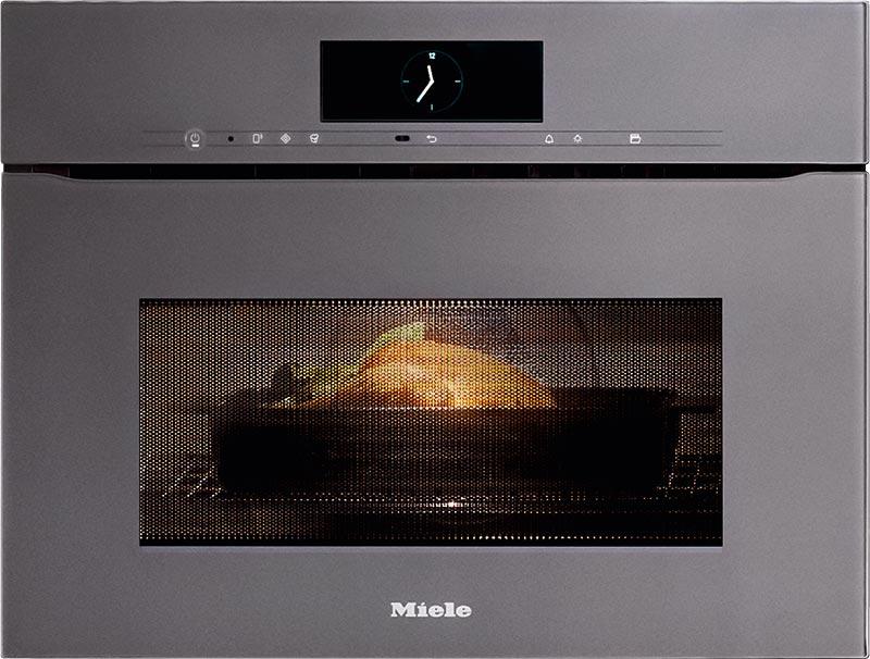 Der Miele Dampfgarer erlaubt eine schnellere und schonendere Zubereitung Ihrer Speisen.
