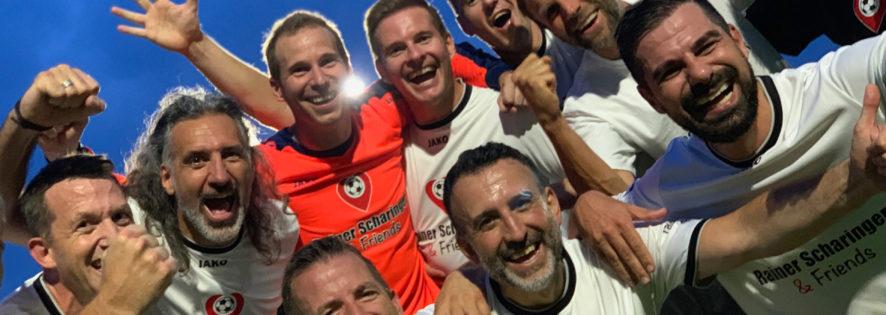 Scharinger & Friends vs. Beyond Sports in Grötzingen - Wir spielen mit