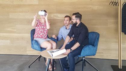 REPORT berichtet über VR im Handwerk am Beispiel Hammer Margrander Interior