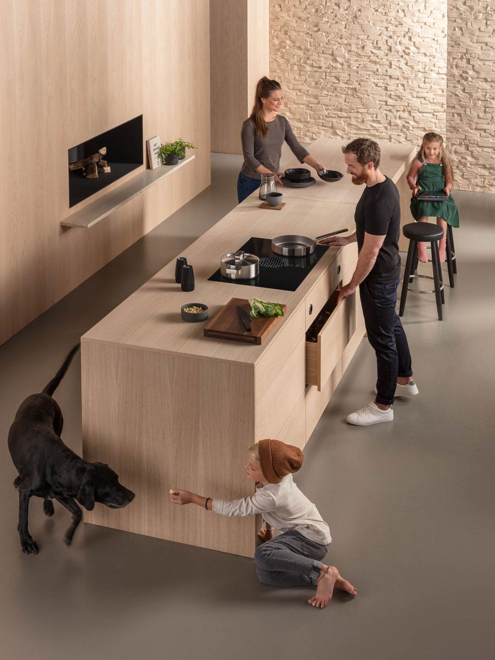 Insbesondere für Inselküchen ist BORA die optimale Lösung.