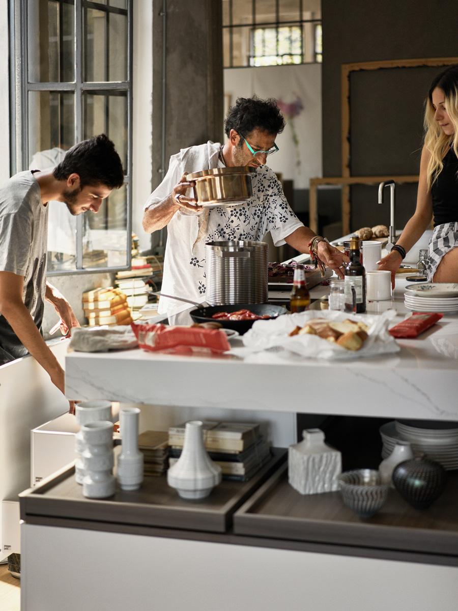 Kochen als gemeinsames Erlebnis.