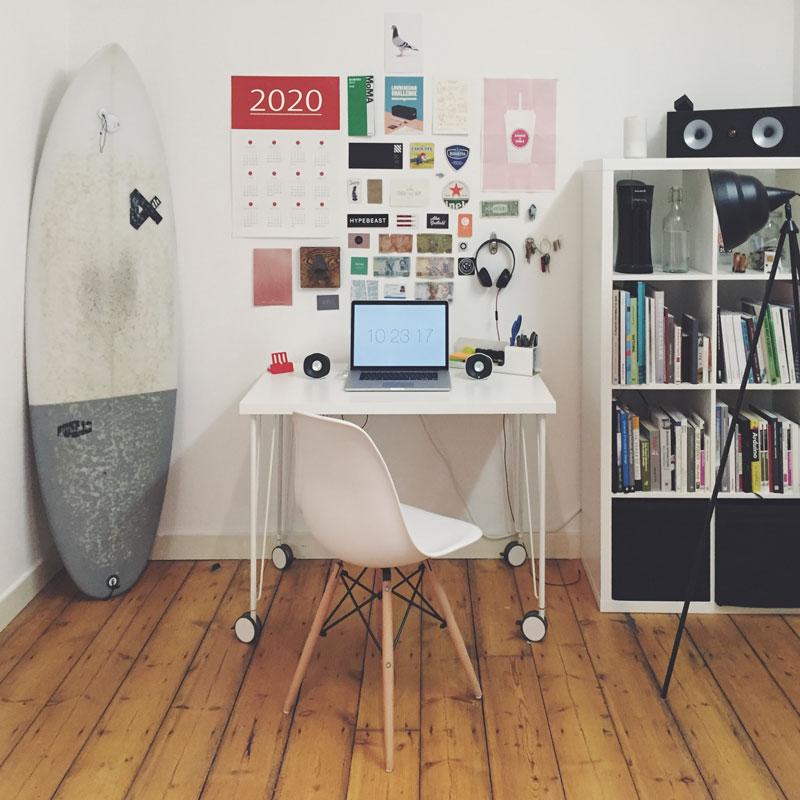 Home Office oder Abstellkammer?