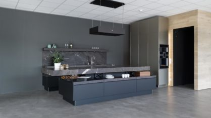Neu in der Ausstellung: Premiumküche mit Gaggenau Geräten und Quooker
