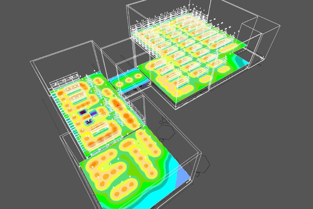 Beleuchtungsanalyse für CA Seibel in Hauenstein