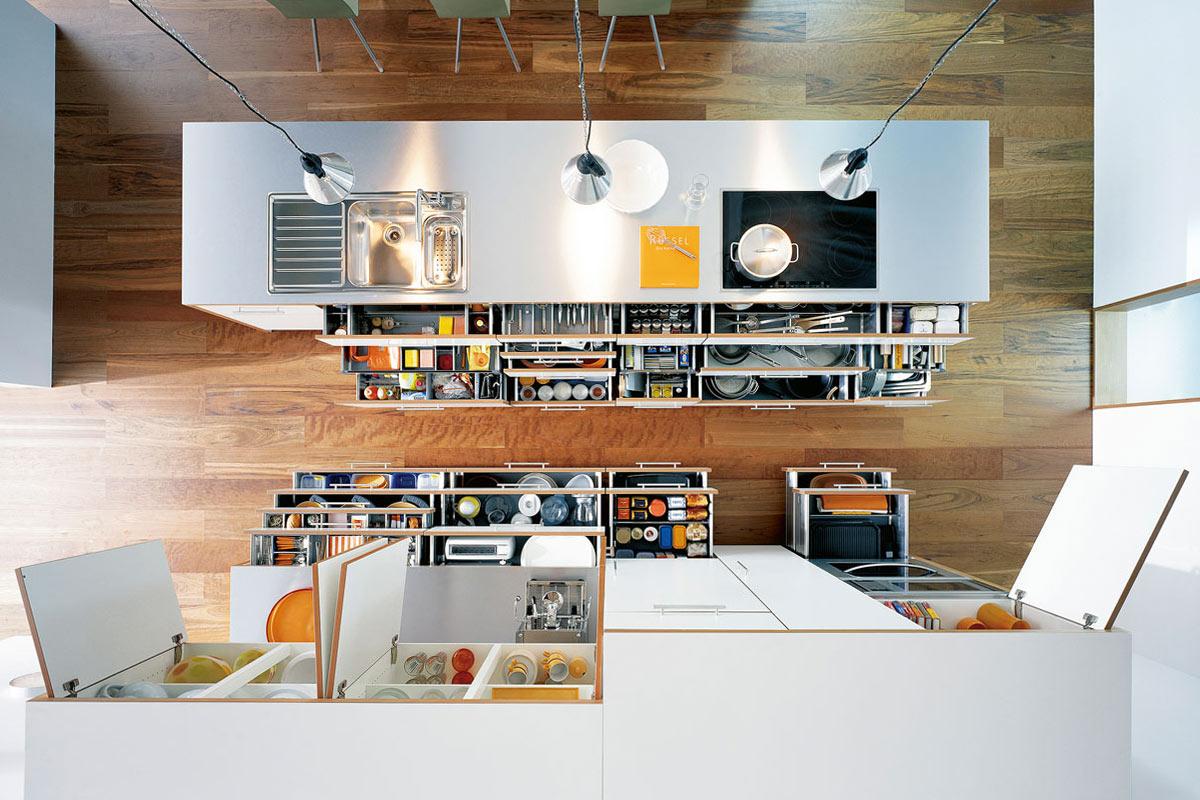 Mehr Ordnung in der Küche