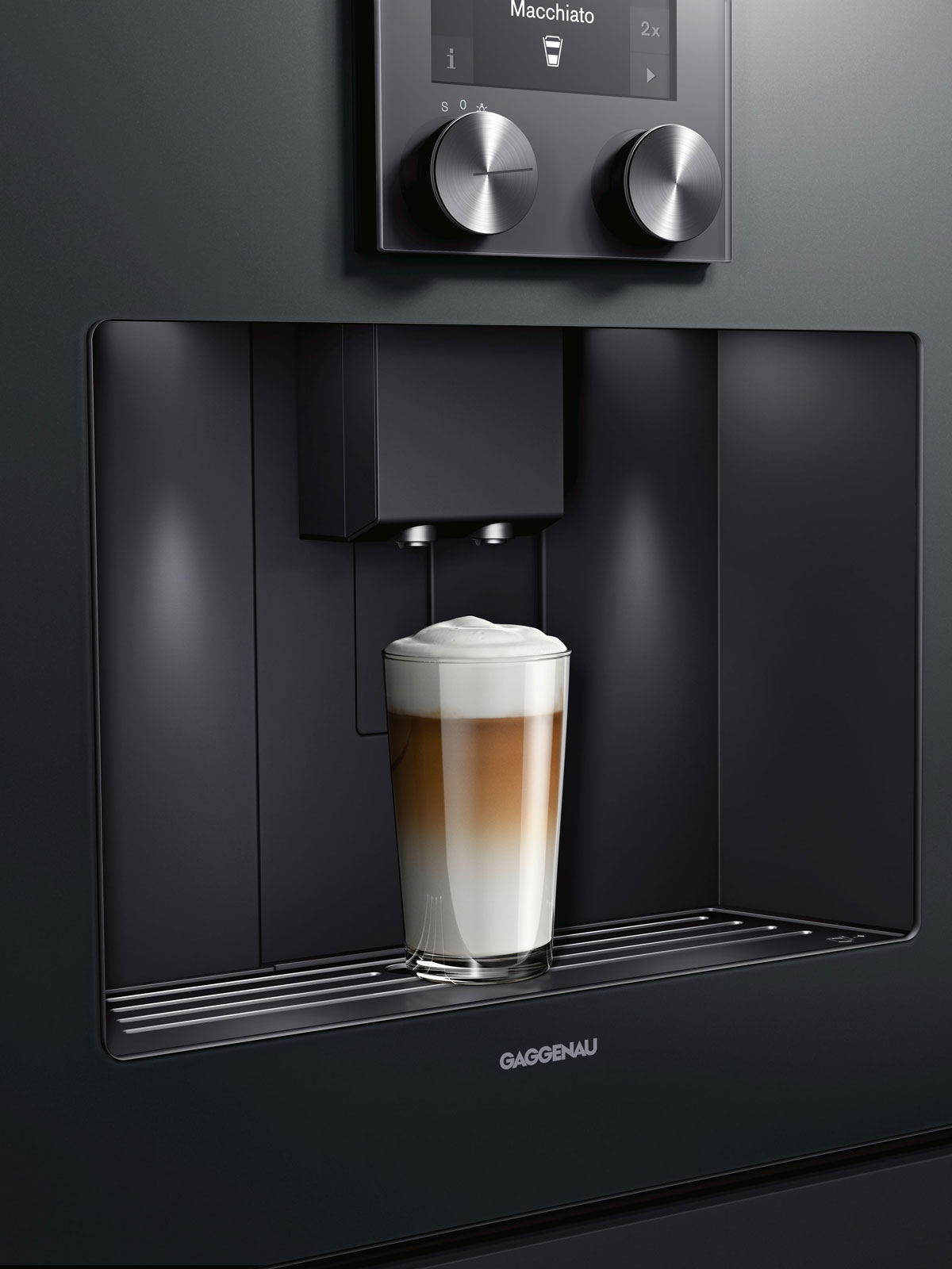 Einbau-Kaffeevollautomat aus der Serie 200