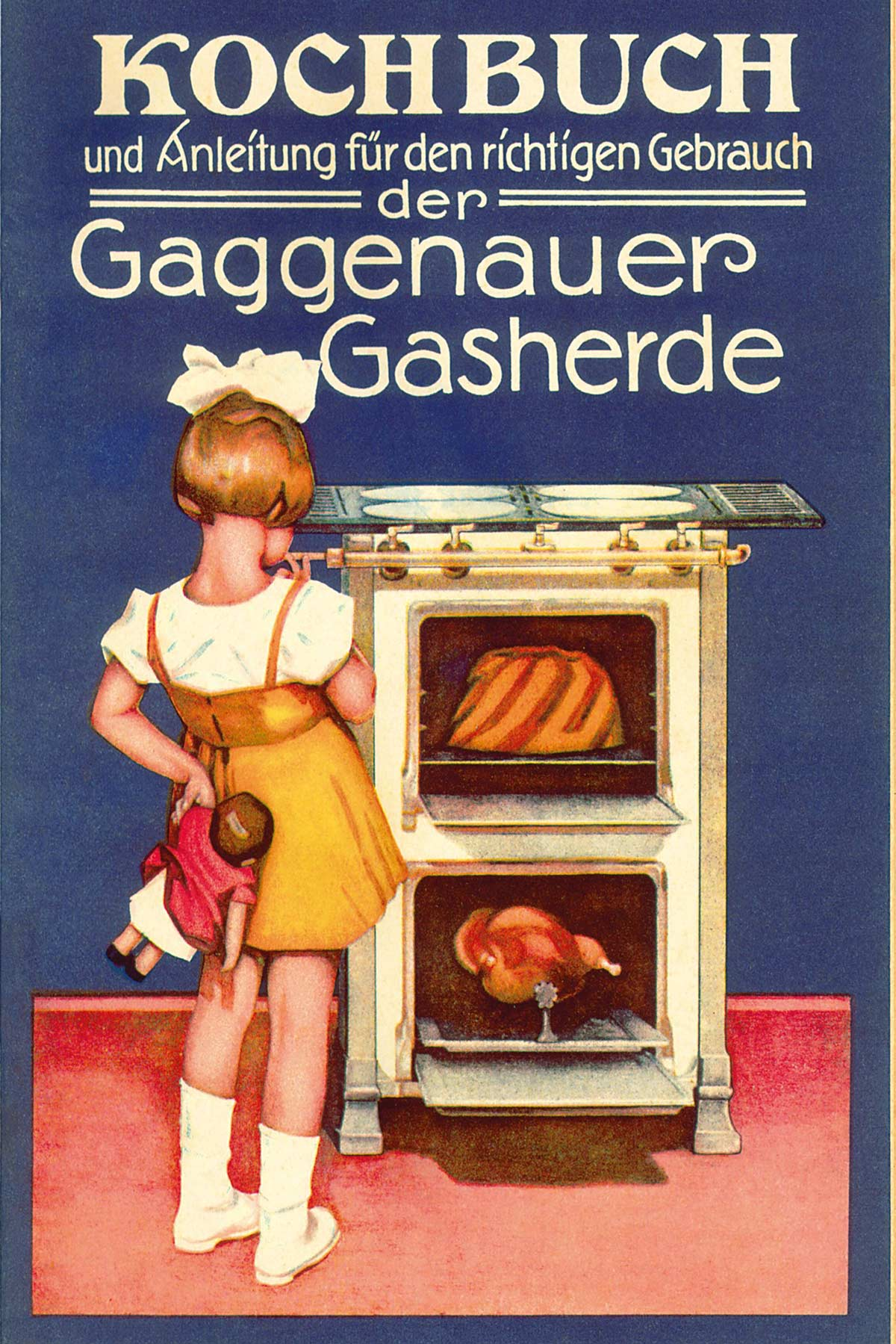 Historisches Gaggenau-Kochbuch