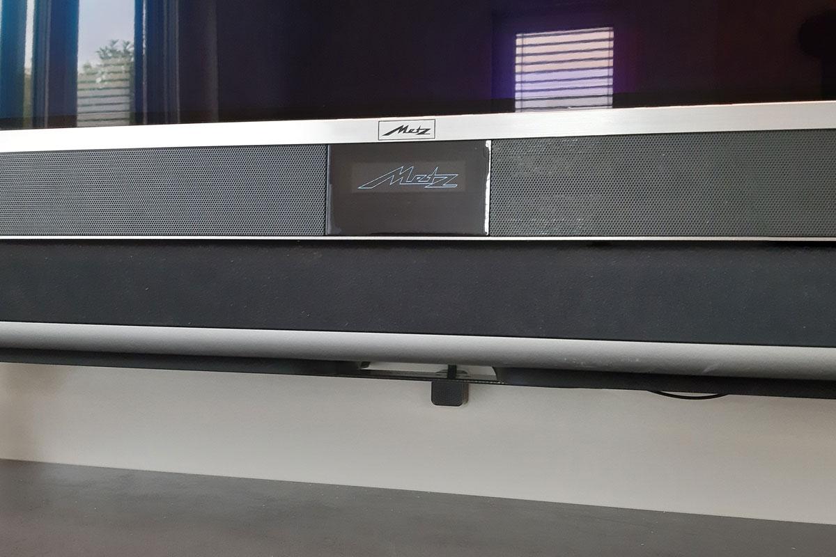 Der Sensor ermöglicht die Bedienung der Geräte bei geschlossener Schublade