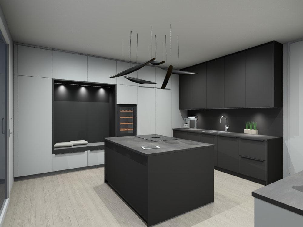 Visualisierung einer Premiumküche