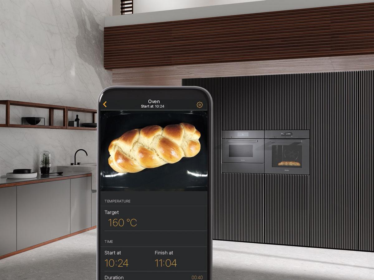 Mit FoodView können Sie den Garraum von unterwegs beobachten