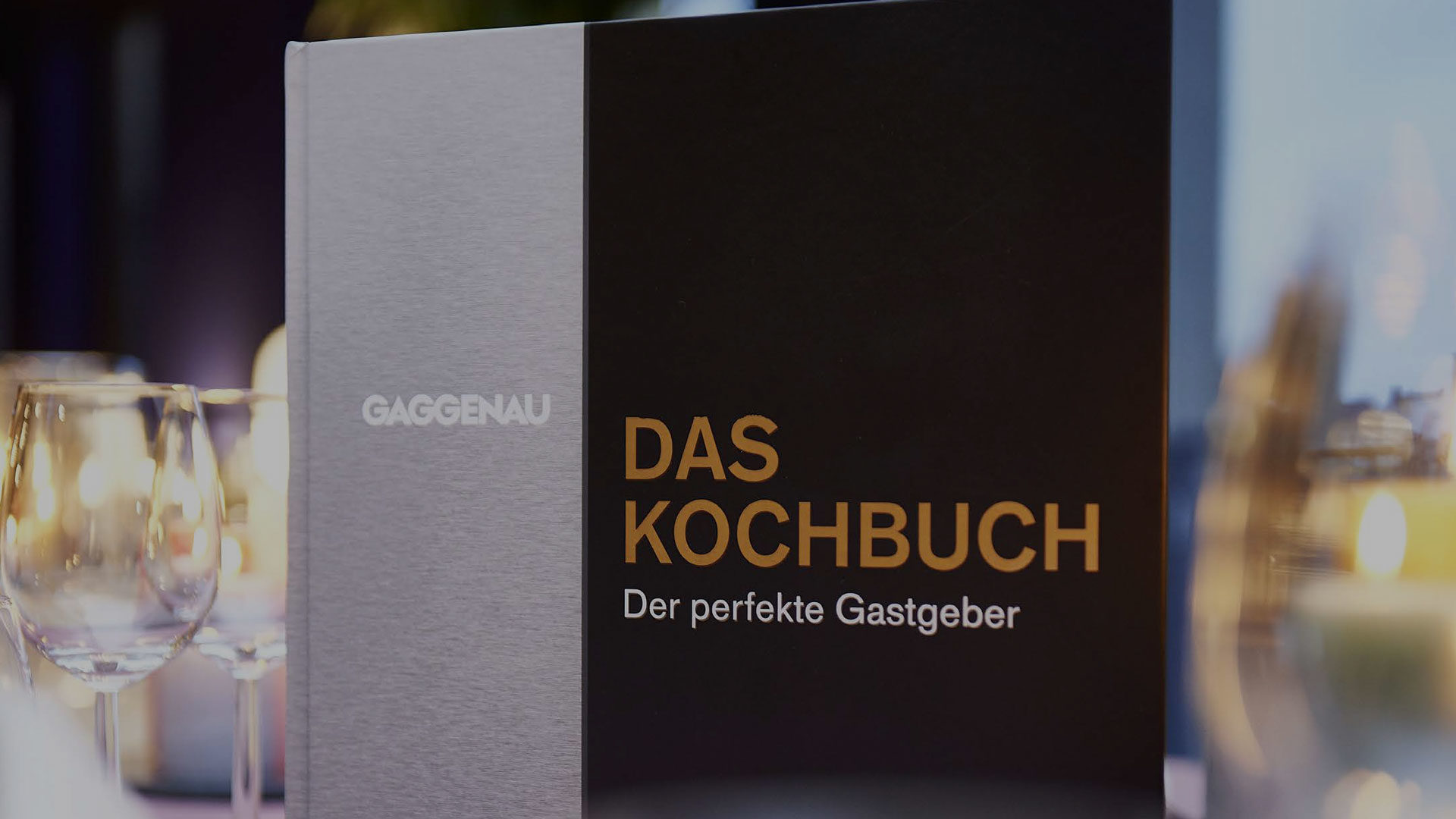 Gaggenau-Aktion: Gratis Kochbuch zu Ihrem Dampfbackofen