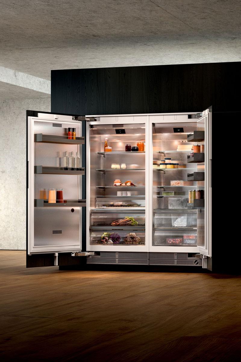 Kühlgeräte aus der Vario 400 Serie von Gaggenau sind besonders effizient und optisch ansprechend
