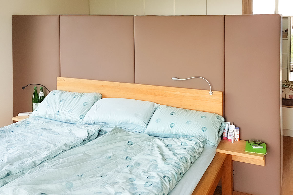 Raumteiler sorgen für mehr Struktur im Schlafzimmer