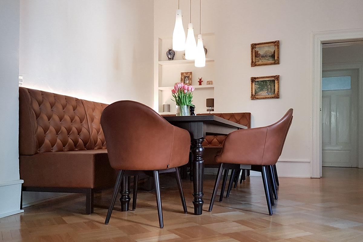 Bequeme Sitzmöbel im klassischen Design