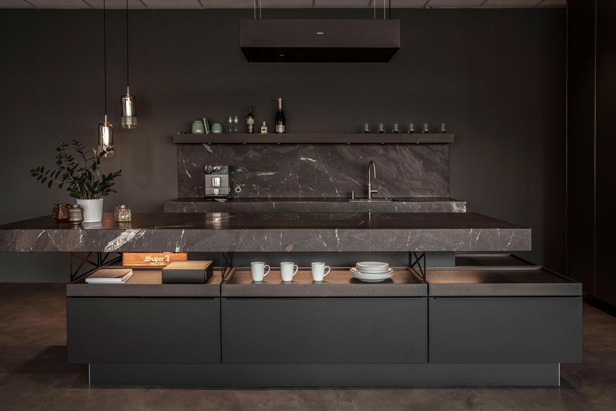 Eine Poggenpohl +MODO Küche für unseren Showroom in Ettlingen