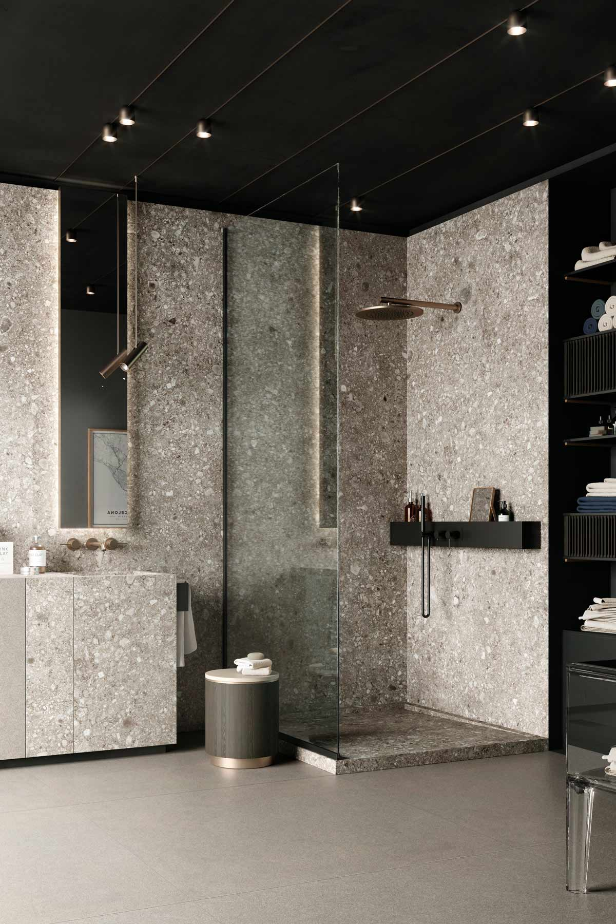 Konsequentes Badezimmer-Design