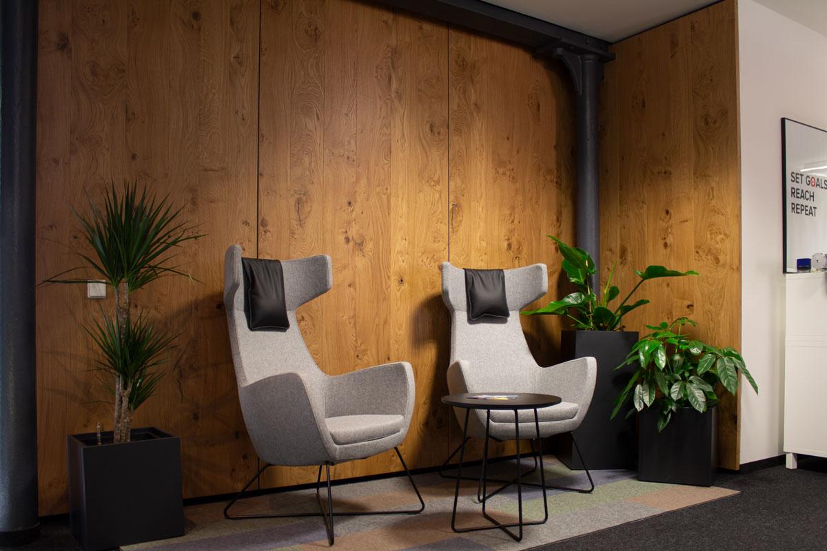 Wandverkleidungen aus Holz für mehr Wärme