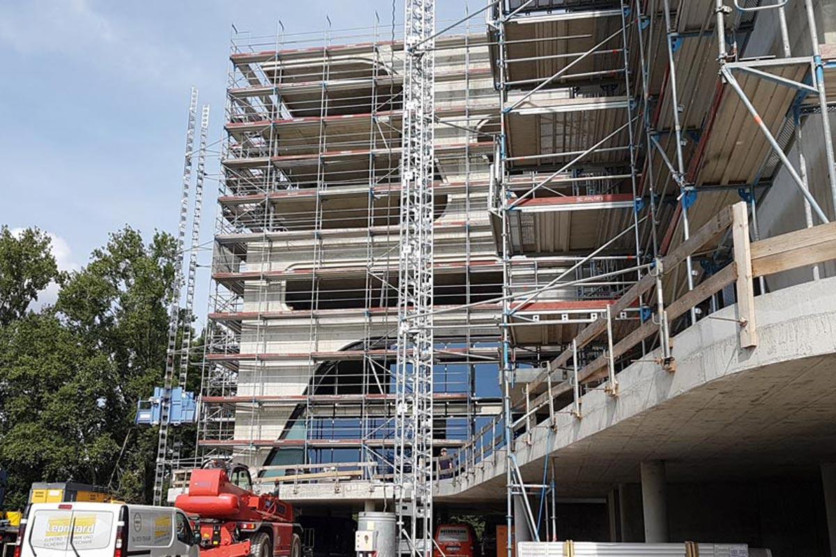 Innovative Bautechnologien für den neuen FC-Campus