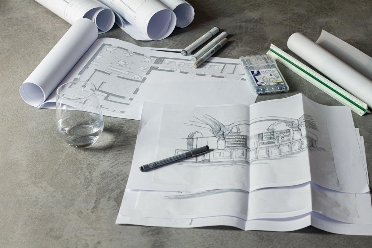 Pläne und Zeichnungen