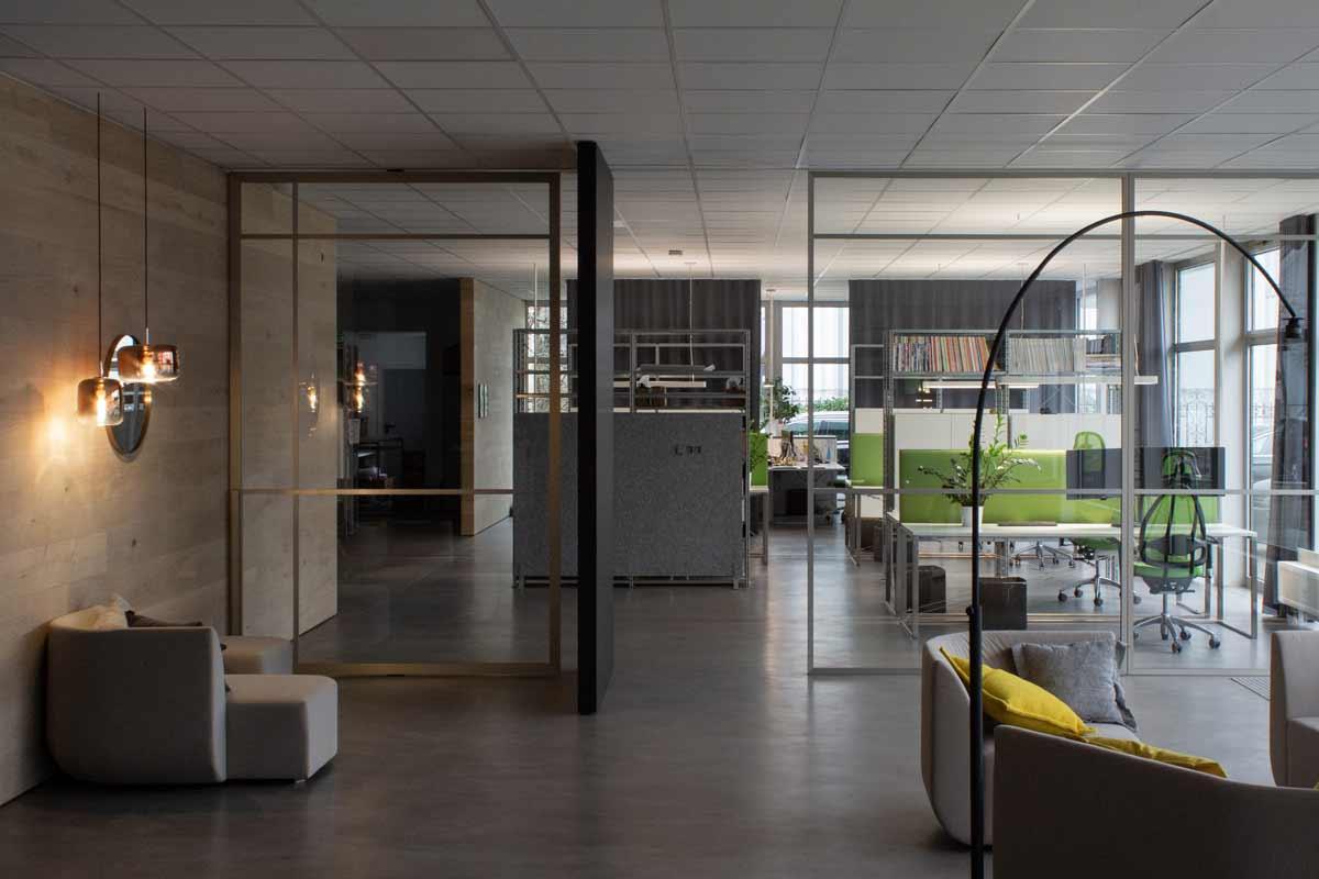 Büro und Ausstellung in Ettlingen