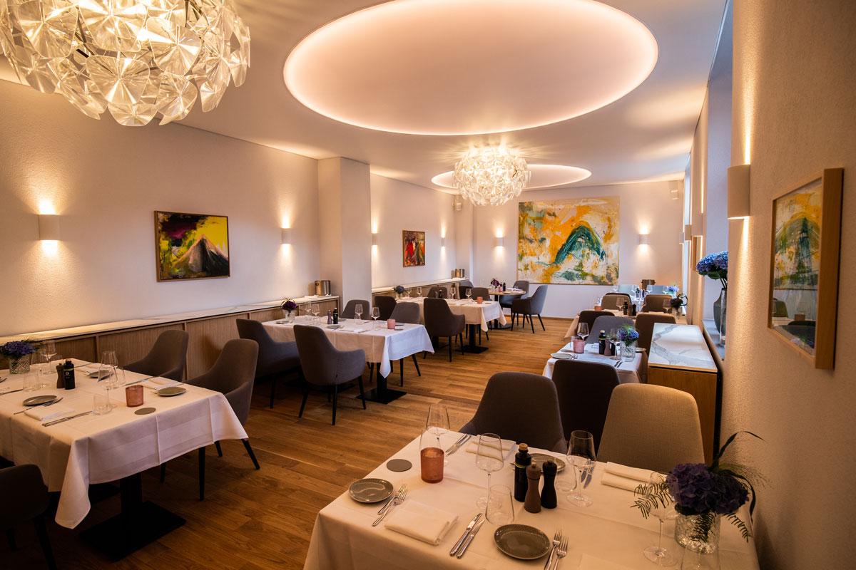 Stilvolle Gastronomieeinrichtung im Restaurant PAN